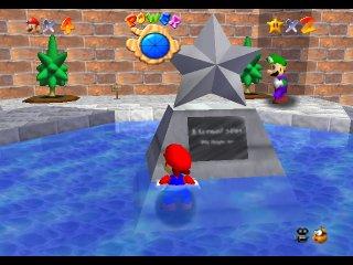 Luigi Found In Super Mario 64 Sm128c Com