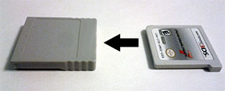 Nintendo 3DS Game Card Adapter