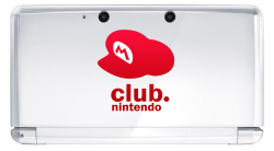 Club Nintendo Ice White 3DS