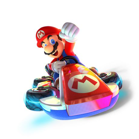 Mario in a Kart!