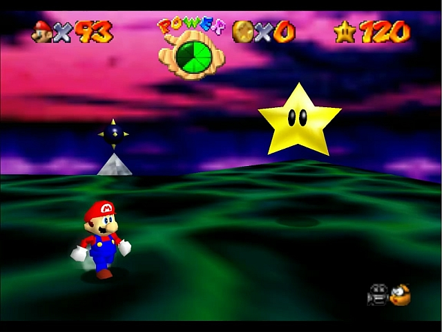 Where is the 121st Power Star in Super Mario 64? - SM128C com