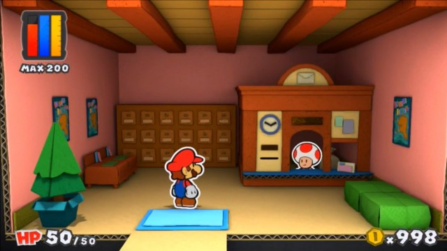 Post Office - Paper Mario Color Splash