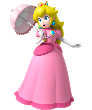 Princess Peach aka Princess Toadstool