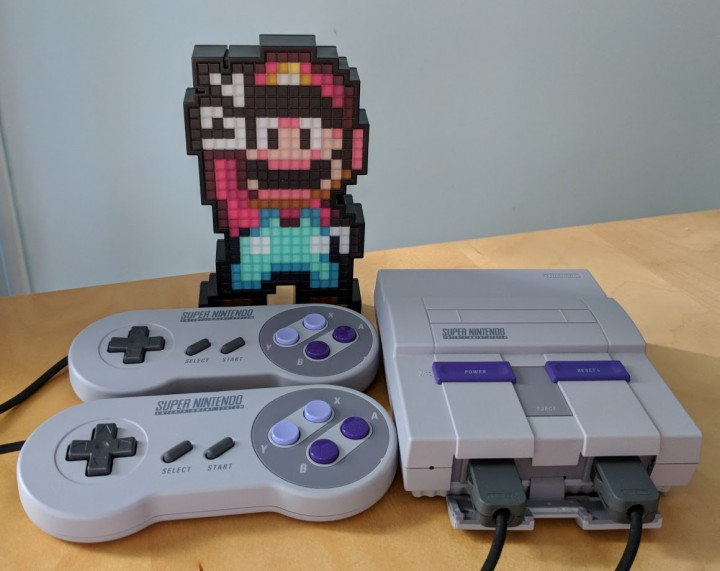 PDP Pixel Pal Super Mario World with SNES Classic