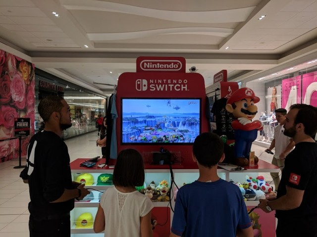 Super Smash Bros. Ultimate demo at Nintendo Canada Kiosk