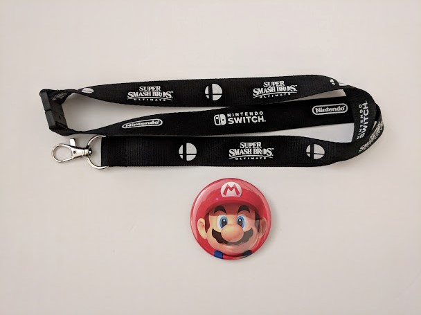 Super Smash Bros. Ultimate lanyard