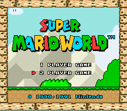 Super Mario World - Play as Luigi