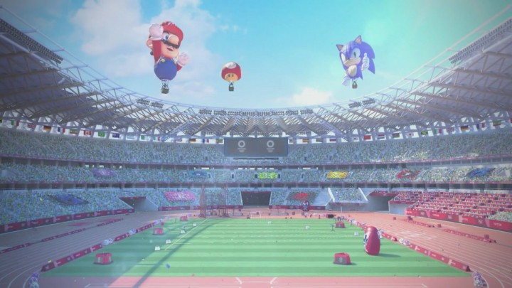 Mario and Sonic Air Balloons