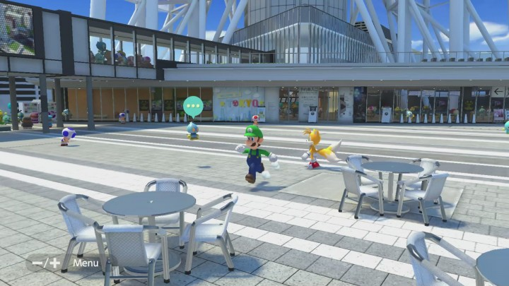 Skytree in Mario and Sonic Tokyo 2020