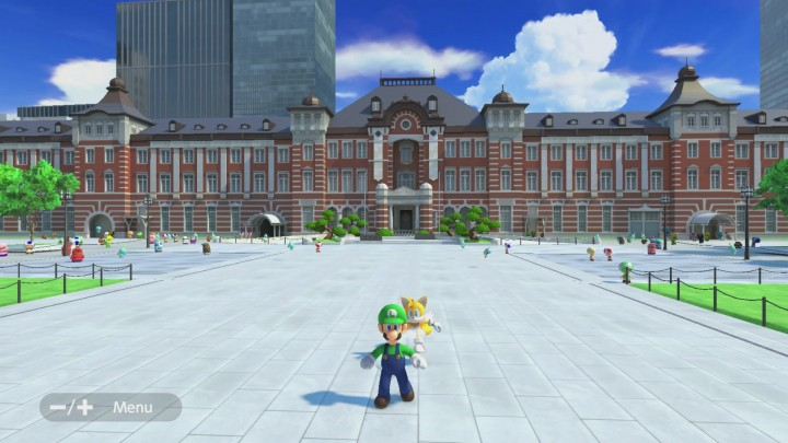 Tokyo Station in Mario and Sonic Tokyo 2020