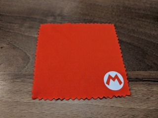 PDP Mario Switch Case Cleaning Cloth