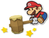 What other office supplies will be a Paper Mario boss?
