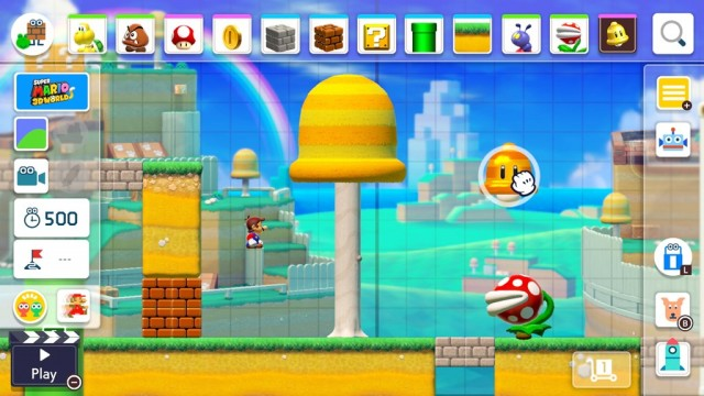 Super Mario Maker 2 - Super Mario 3D World Style