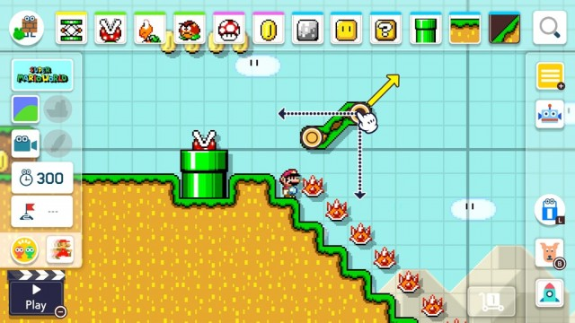 Super Mario Maker 2 for Nintendo Switch SMW Slopes