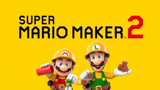 Super Mario Maker 2 for Nintendo Switch logo