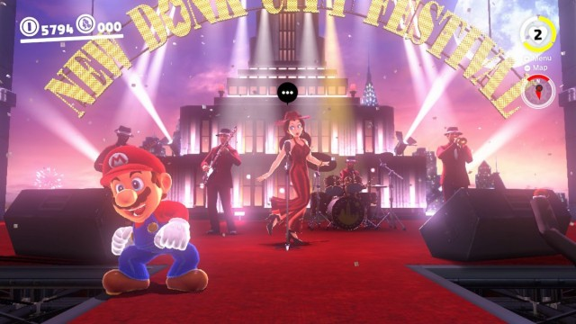 Pauline at the New Donk City Festival