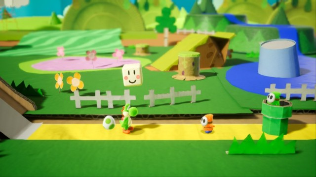 Yoshi's Crafted World Demo