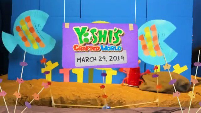 Yoshi's Crafted World Release Date March 29, 2019